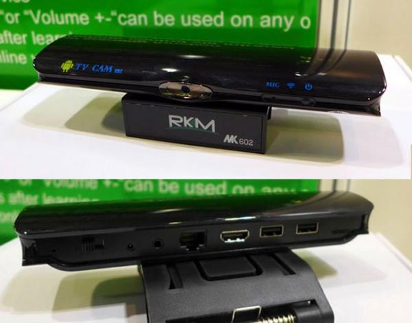 Rikomagic MK602 — телеприставка с ОС Android