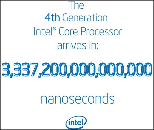 Intel начинает обратный отсчет до выпуска Haswell