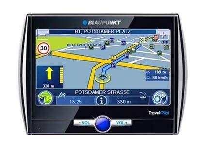 Три новых GPS-навигатора Blaupunkt