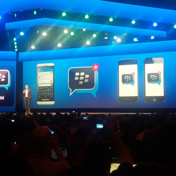 BlackBerry Messaging придет на iOS и Android