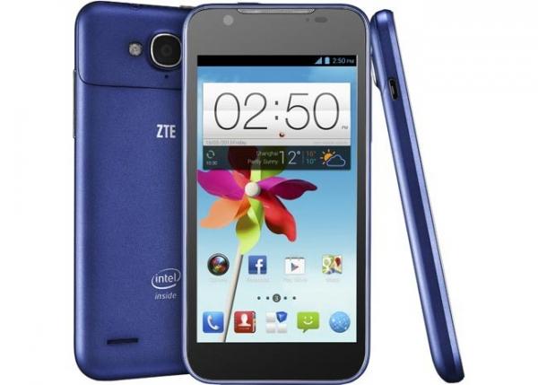 Android-смартфон ZTE Grand X2 на базе Intel Atom
