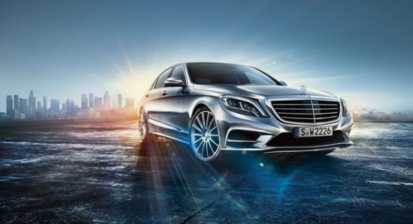 Mercedes-Benz представила свой робокар S-класса за 100 000 $