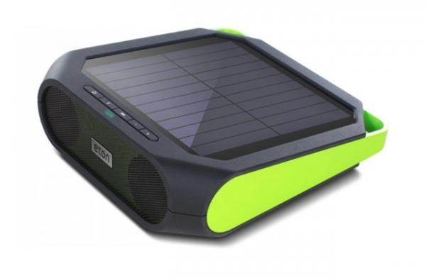 Eton Rugged Rukus — прочная беспроводная аудиосистема с солнечной батареей