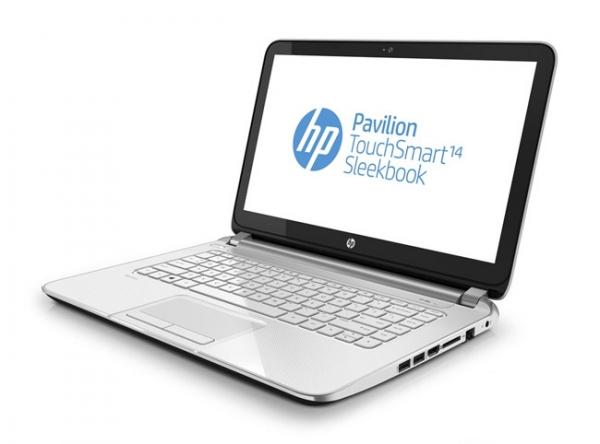 Ультрабук HP Envy TouchSmart 14 с дисплеем высокого разрешения
