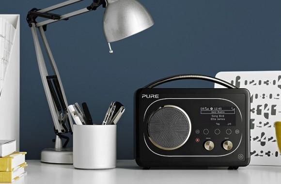 Pure Evoke F4 радиоприемник с Bluetooth и Wi-Fi