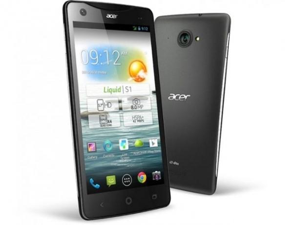 Liquid S1 — «фаблет» от Acer