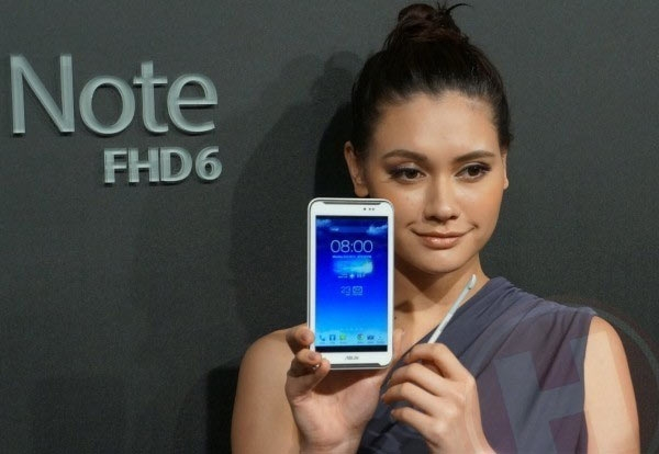 Asus представила конкурента Samsung Galaxy Note II: 6-дюймовый Fonepad Note со стилусом