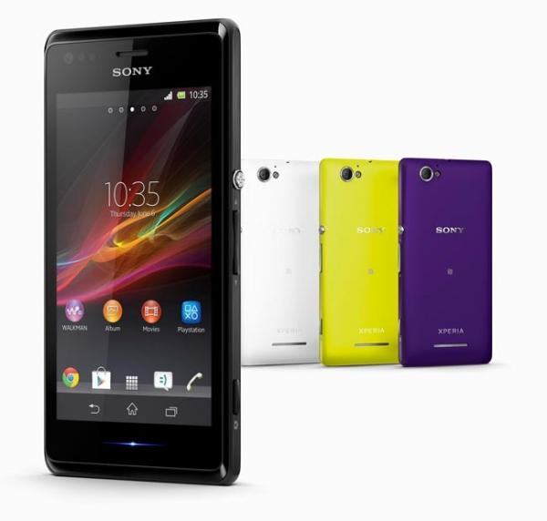 Sony анонсировала смартфон Xperia M