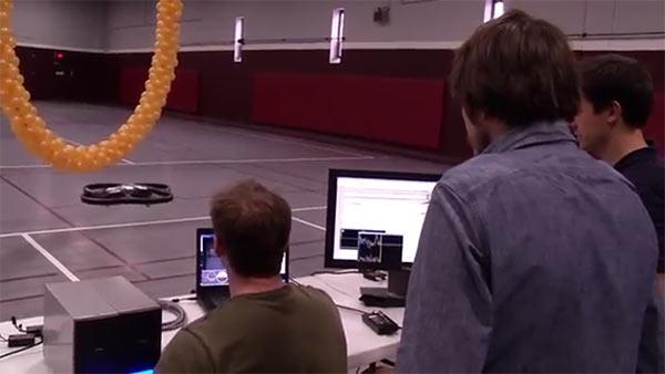 Исследователи показали AR.Drone, управляемый мыслью