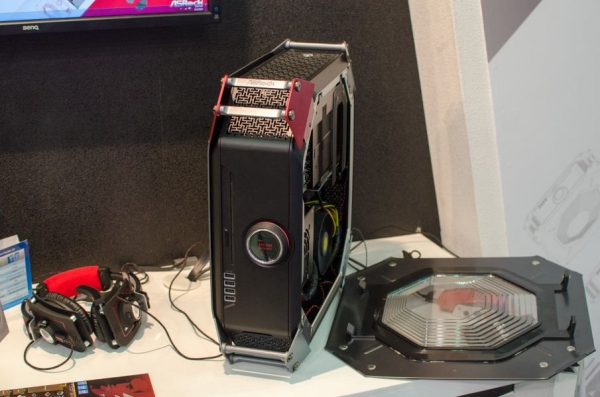 M8 – миниатюрный геймерский ПК от ASRock и BMW