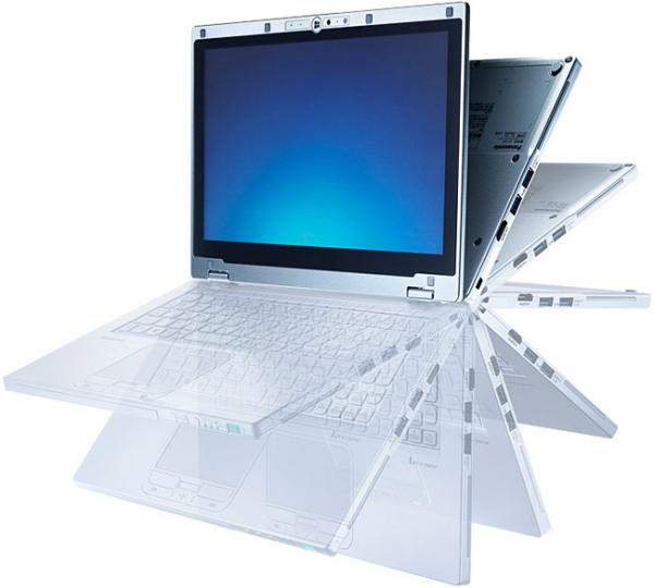 Panasonic AX3 — гибрид планшета и ультрабука с поворотным дисплеем