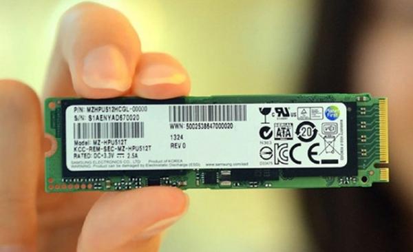 Samsung запускает массовое производство PCIe-SSD для ультрабуков