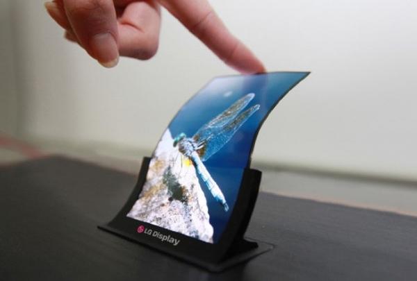 LG начнет массовое производство гибких OLED-дисплеев