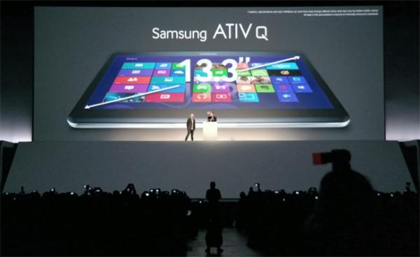 Samsung ATIV Q — гибридный планшет с Windows и Android