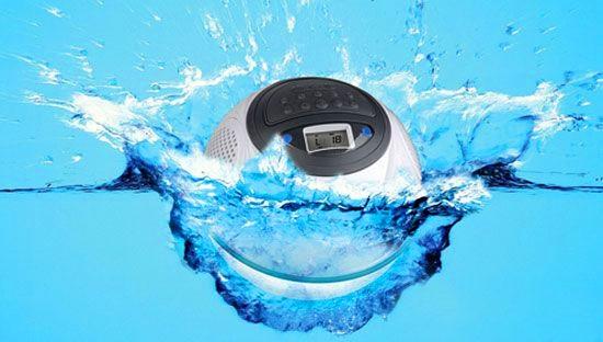 Aqua Dancer – водонепроницаемый динамик