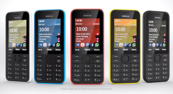 Новые бюджетники от Nokia — 207 и 208: 3G, месяц в режиме ожидания, 68 $