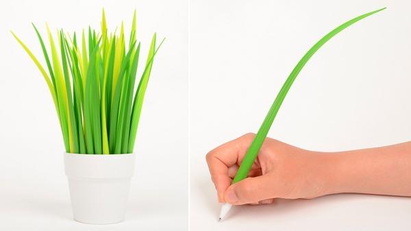 Потрясающие силиконовые ручки в виде травинок