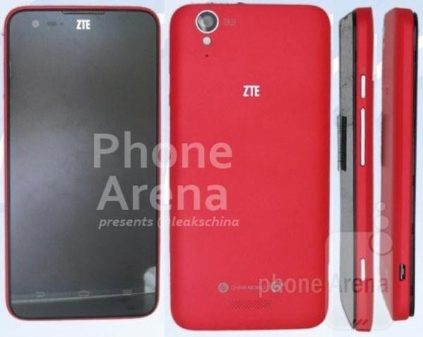 Фото и спецификации смартфона ZTE U988S (слухи)