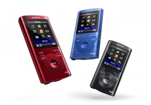 Анонс плееров Sony Walkman NWZ-E580 и NWZ-E380