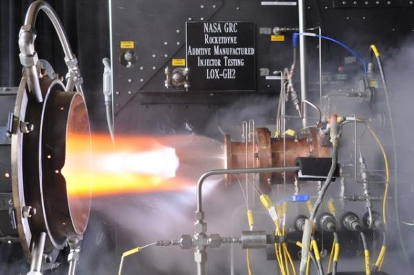 NASA «напечатало» деталь ракетного двигателя на 3D-принтере и успешно испытало ее