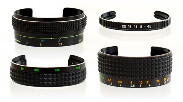 Супер-оригинальные браслеты из объективов