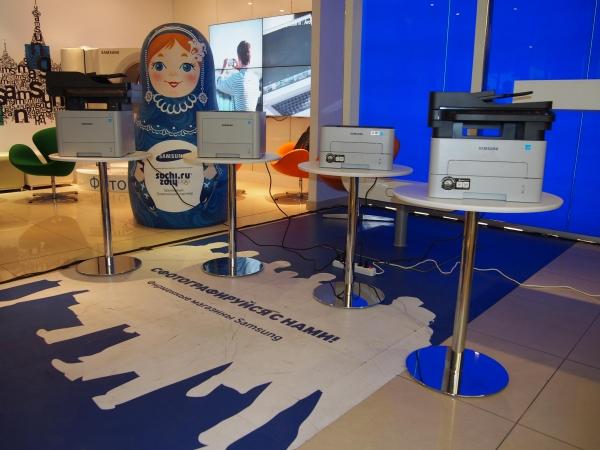 Samsung представила в России двухъядерные принтеры