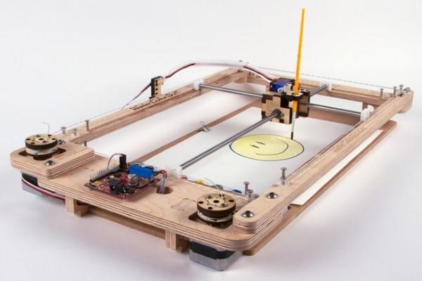WaterColorBot — акварельный принтер