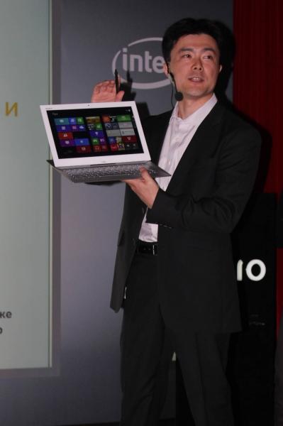 Sony представила свой планшетобук