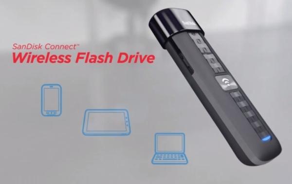 SanDisk Connect — беспроводная флешка для мобильных устройств