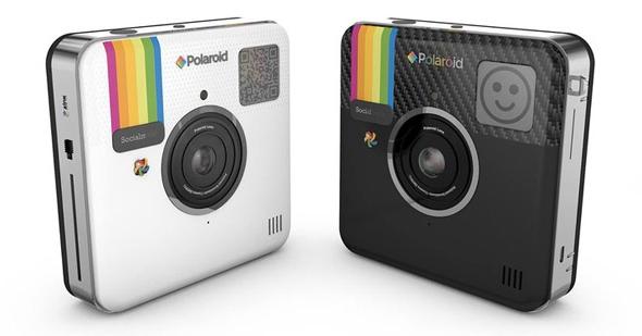 Polaroid Socialmatic — камера с мгновенной печатью и ОС Android