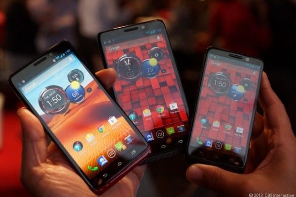 Мото-анонсы: Droid Ultra, Maxx и Mini, «8-ядерный» процессор Motorola