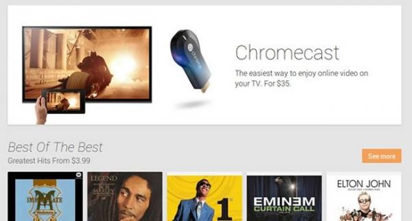Google Chromecast позволяет управлять телевизором с любого устройства