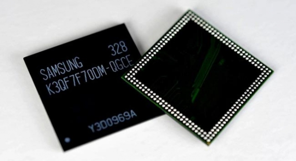 Samsung выпускает 3-гигабайтные модули ОЗУ для смартфонов