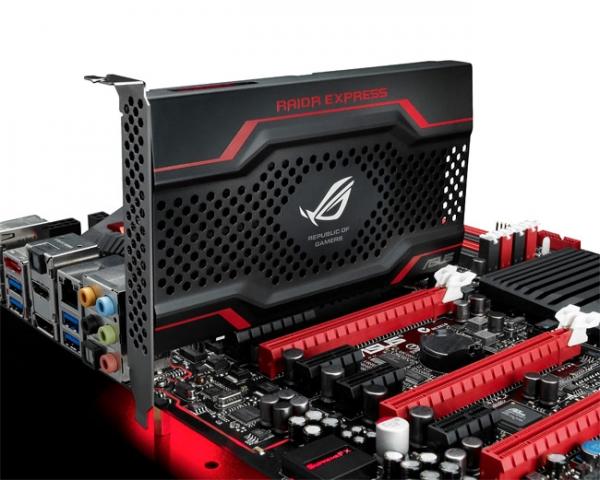 ASUS RAIDR Express — SSD-накопитель с интерфейсом PCI-e