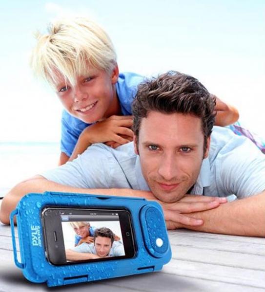 SurfSound-Play — водозащитный корпус с аудиосистемой для мобильных устройств