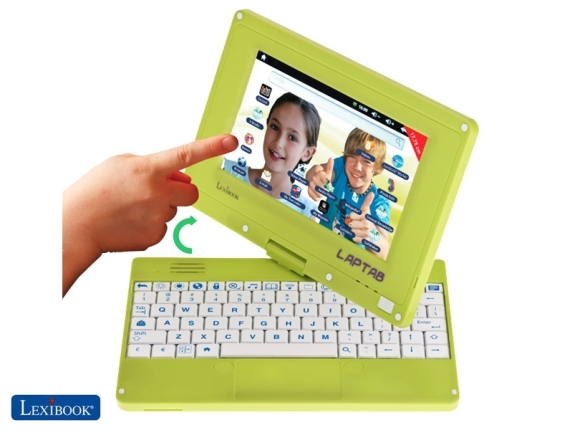 Lexibook Laptab — Android-трансформер для детей