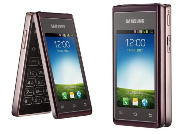 Android-раскладушка от Samsung
