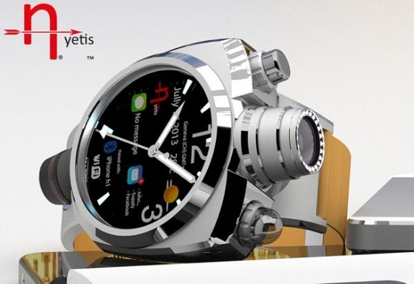 Hyetis Crossbow — «умные» часы с 41-мегапиксельной камерой