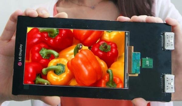 Дисплей LG Quad HD с ультравысоким разрешением