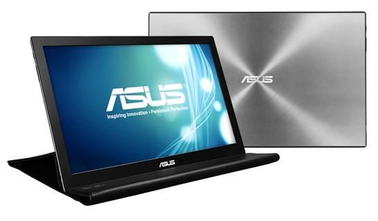 ASUS представляет портативный USB-монитор MB168