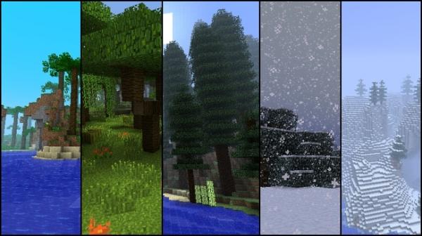 Minecraft получит «целую кучу» новых биомов