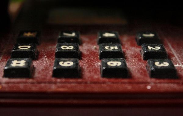 Каким мог стать «стандартный» телефонный номеронабиратель