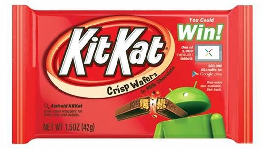 Продолжаем десертную тему: «KitKat» — следующая версия Android