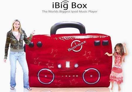 iBig Box – самая большая док-станция для iPod