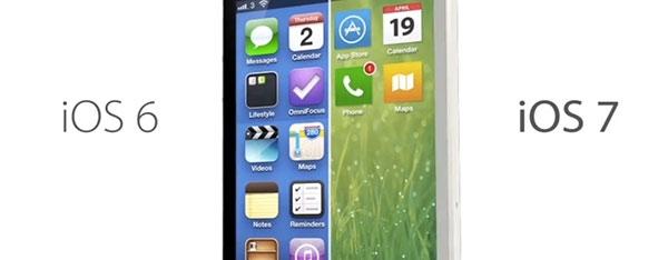 iOS 7 стала популярнее iOS 6