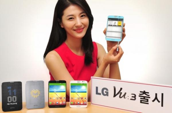 Официальный анонс смартфона LG Vu 3