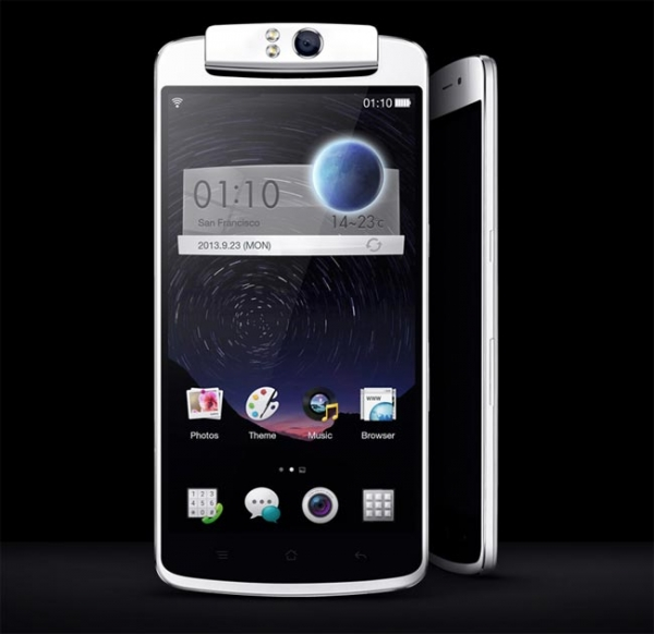 Официальный анонс смартфона Oppo N1