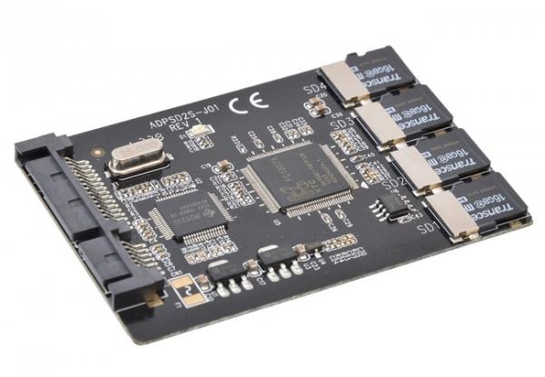 MicroSD SSD Creator Kit — конвертер microSD в SSD