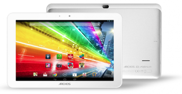 Бюджетные четырехъядерные планшеты Archos Platinum