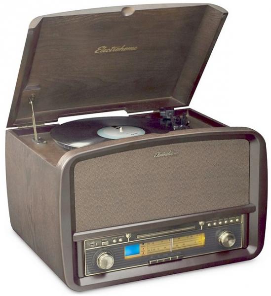Electrohome Retro Hi-Fi System — аудиосистема в стиле ретро